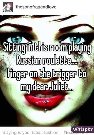 Russian roulette poetry