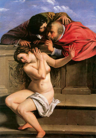 "Image for the poem On Gentileschi's ""Susanna and the Elders"""
