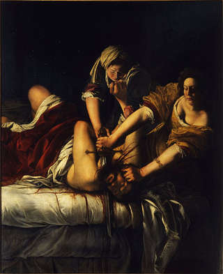 "Image for the poem On Gentileschi's ""Judith and Holofernes"""