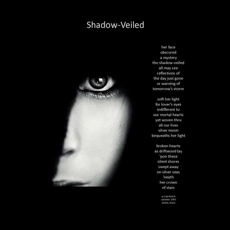 Visual Poem Shadowe Veiled