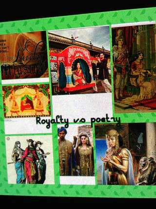Image for the poem The Royals vs the poet's realm