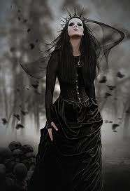 Image for the poem Dark Queen~a tale of two women