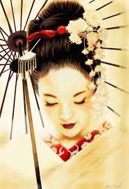 Image for the poem Geisha