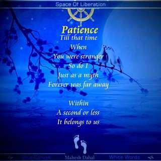 Love Poems Patience Du Poetry