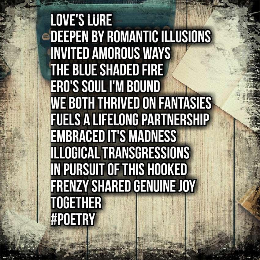 Love Poems : LOVE'S LURE : DU Poetry