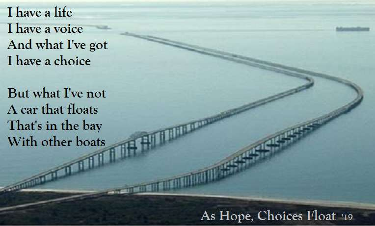 As Hope, Choices Float - visual verse