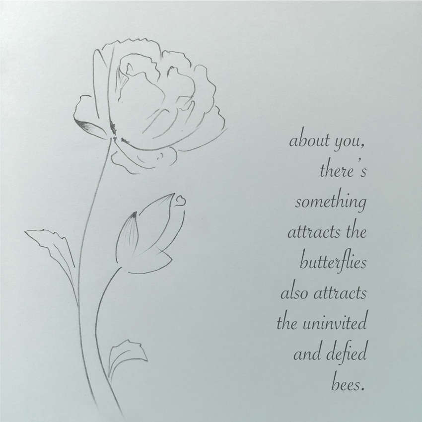 Visual Poem flower...