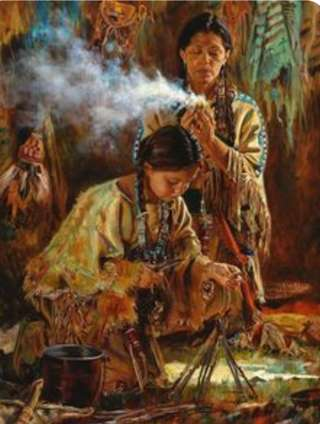 Image for the poem White Sage