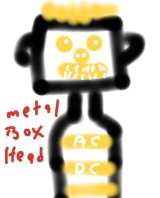 Image for the poem Metal Box Head