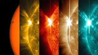 Image for the poem solar flare