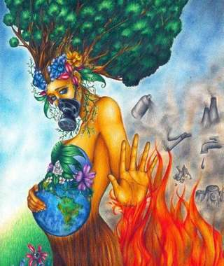 Image for the poem Save Our Mother Earth