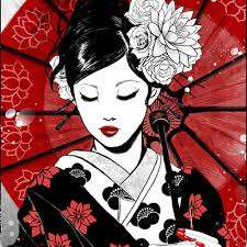 Image for the poem geisha a love story