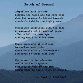 Image for the poem Patch of Ground