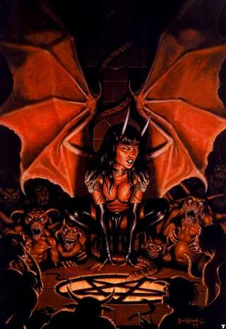 Image for the poem BETWEEN THE DEVIL AND THE DAMNED