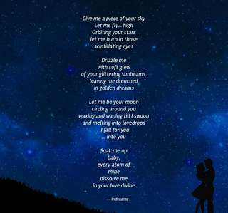 Image for the poem My Universe