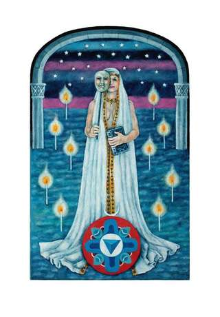 "Image for the poem We're all made of stars."": Recap: Tarot-2-part one-The High Priestess -"