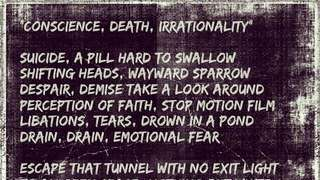 Conscience, Death, Irrationality