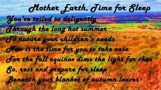 Mother Earth, Time for Sleep