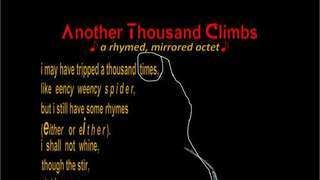 another thousand climbs [visual version]